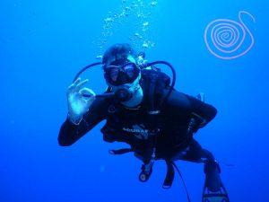 2018, a happy diver